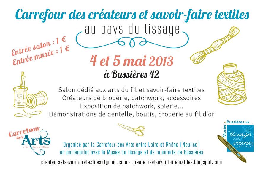 Carrefour des Createurs et Savoir-faire Textiles