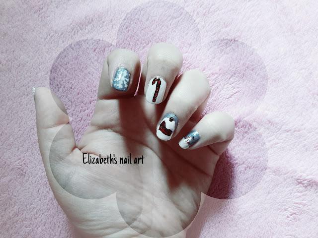 nail art navideño