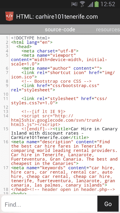 How to View Web Page Source Code on Android Phone