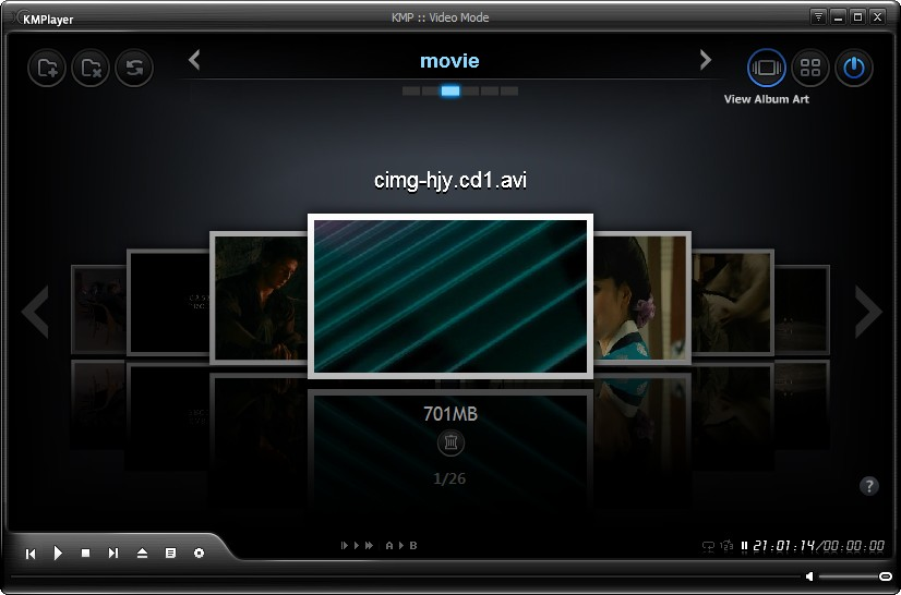 Easy`windows: KMP media player