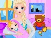 Elsa Give Birth To A Baby Girl