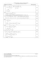 Baremul de evaluare si notare rezerva matematica M2 bacalaureat 2012