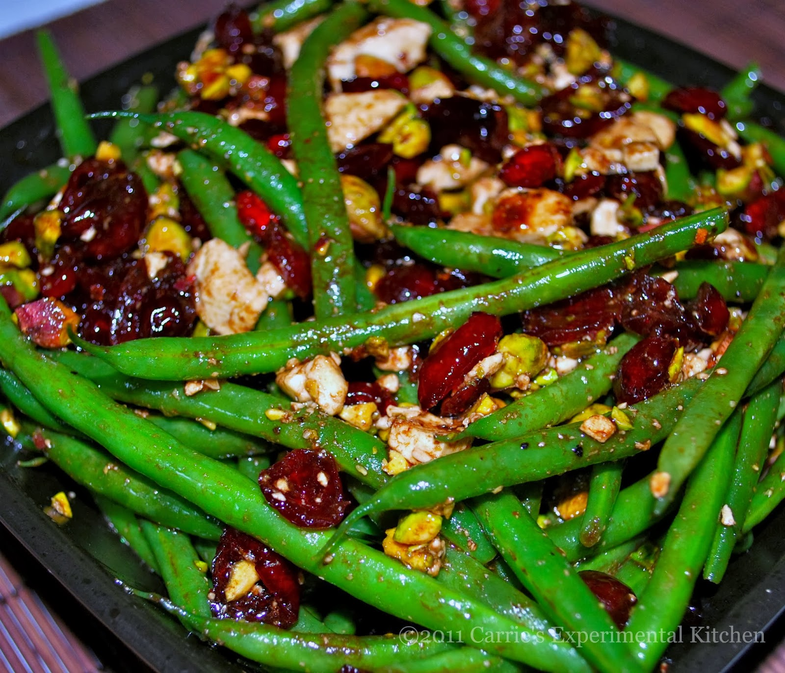 """Haricot Vert Salad French Haricot Vert is French For """""""