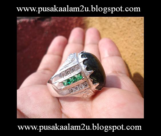 Cincin Batu Tok Wali Ikat Bentuk Berlian 3 ( Edisi Khas Raya )