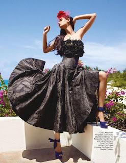 Diana Penty Sizzling photoshoot for Vogue Magazine India July 2012