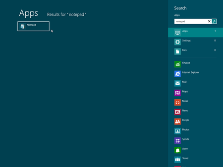 how to find programs on windows 8