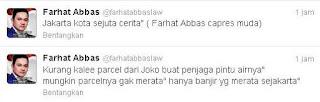 Kontroversi Kicauan Farhat Abbas di Twitter