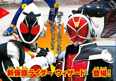 Kamen Rider Wizard, The Magical Rider!
