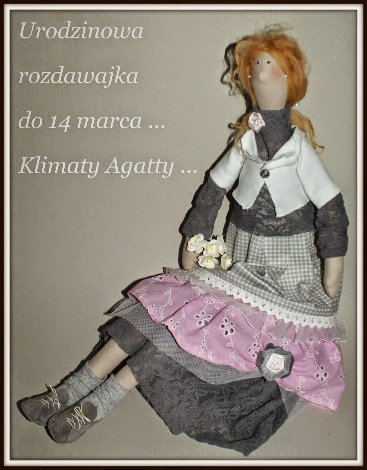 """URODZINOWA ROZDAWAJKA - """" KLIMATY AGATTY """""""