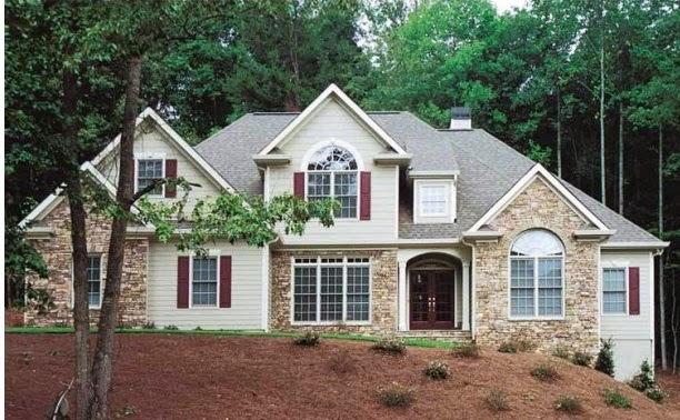 Fachadas de piedra frentes de casas con piedras y ladrillos for Frentes de casas modernas con piedras