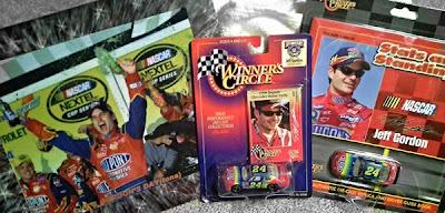 NASCAR Race Mom - won the 2005 JG Daytona picture, 1998 JG diecast, 1999 JG diecast/stats book