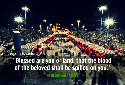Blessed are you o' land, that the blood of the beloved shall be spilled on you.