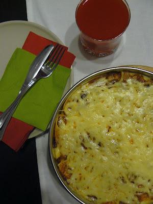 Zapiekanka z tortilli