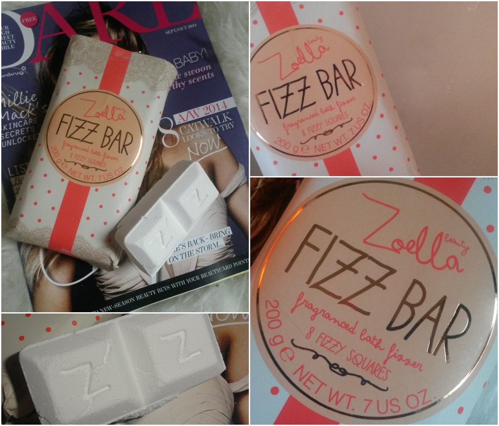 Zoella Beauty: Fizz Bar | Review by ♥ A British Sparkle ♥ on ...