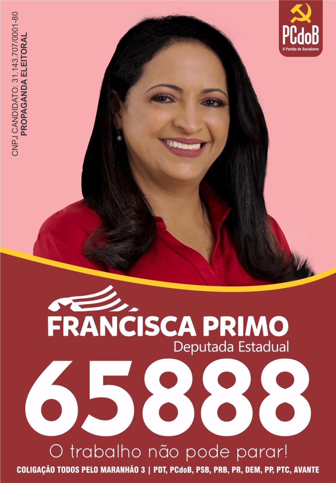 Vote Francisca Primo 65.888