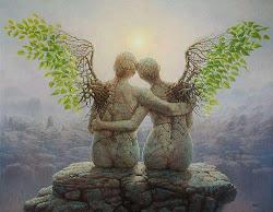 En parlant des anges, on leur voit les ailes