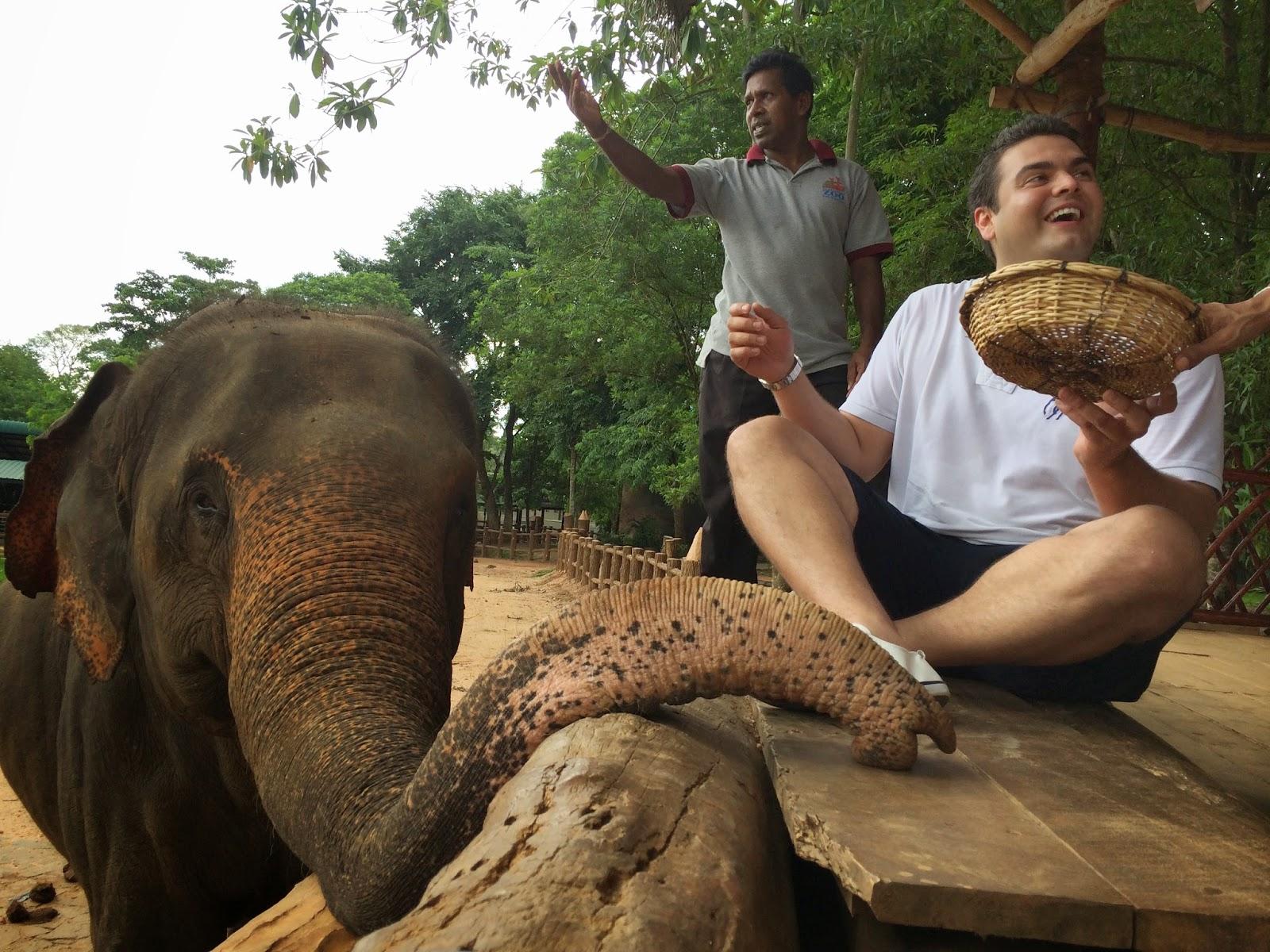 Frabian from Travelworld in Sri Lanka