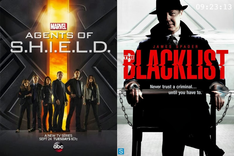 Agents of S.H.I.E.L.D / The Blacklist Poster