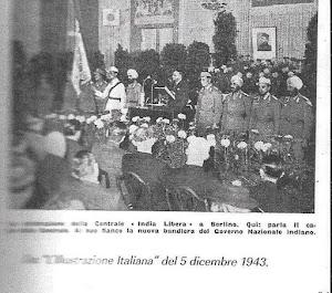 foto  pubblicata sul Giornale d'Italia del 5 dicembre 1943 India libera a Berlino