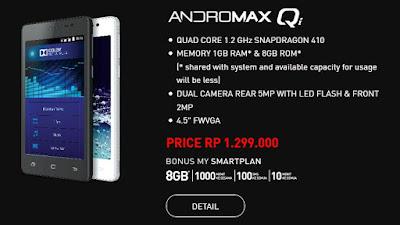 Andromax Qi, Smartphone Andromax 4G LTE Terbaru