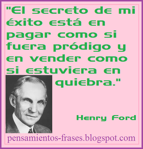 frases de Henry Ford