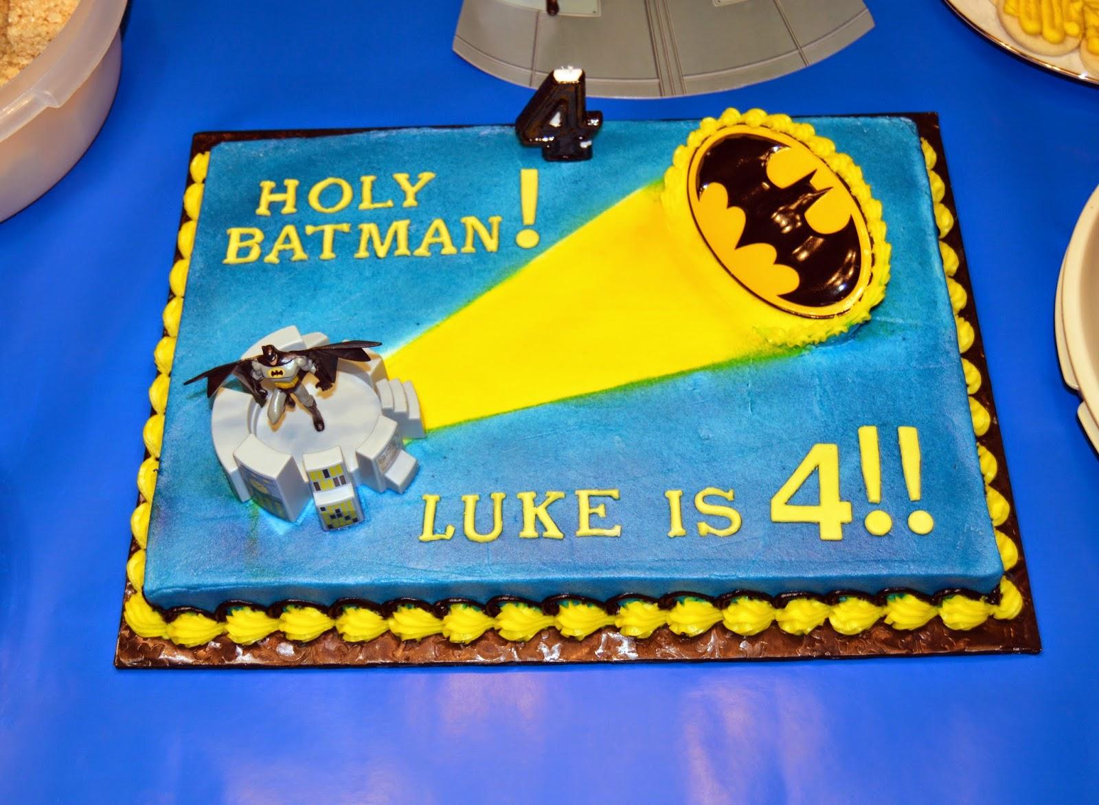 Lukes 4th Birthday Batman Style Klappenbach Kids