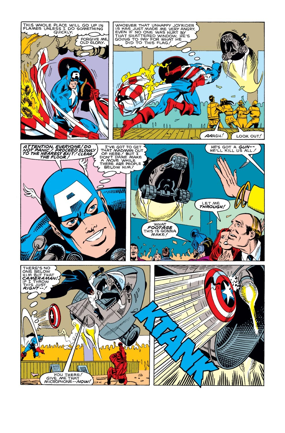 Captain America (1968) Issue #312 #240 - English 16