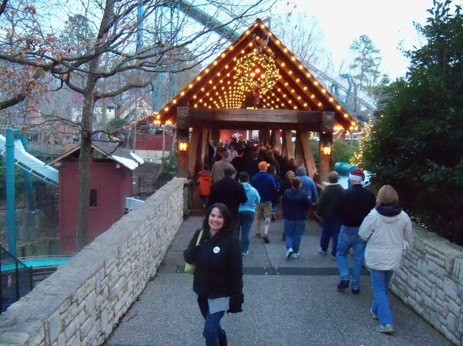 Chic Crafty Chick Christmas Town Busch Gardens In