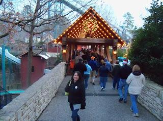 Chic Crafty Chick Christmas Town Busch Gardens In Williamsburg Virginia