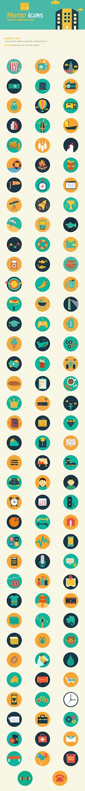 أيقونات ميرو لتصميم الفوتوشوب 2014 Meroo-Icons-Preview1.png