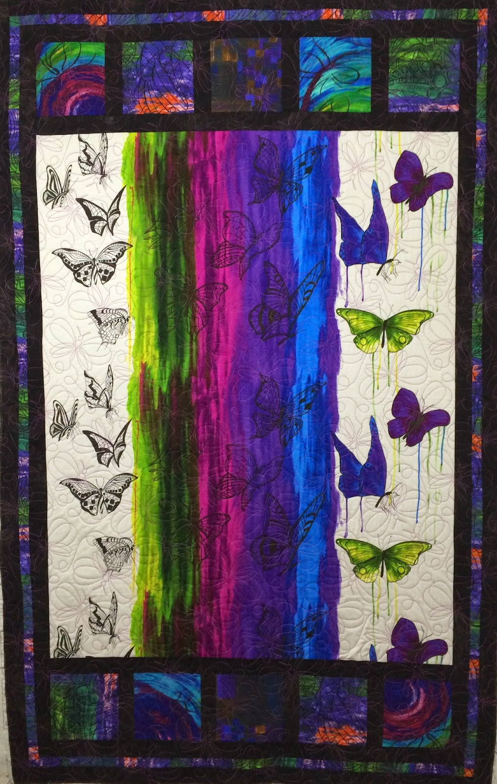 Beth Robertson's Butterfly Quilt