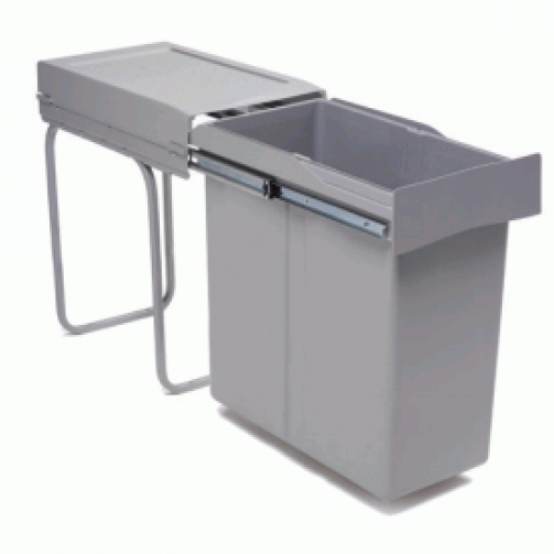 Cubo basura extraible grande tu cocina y ba o - Cubo basura puerta ...