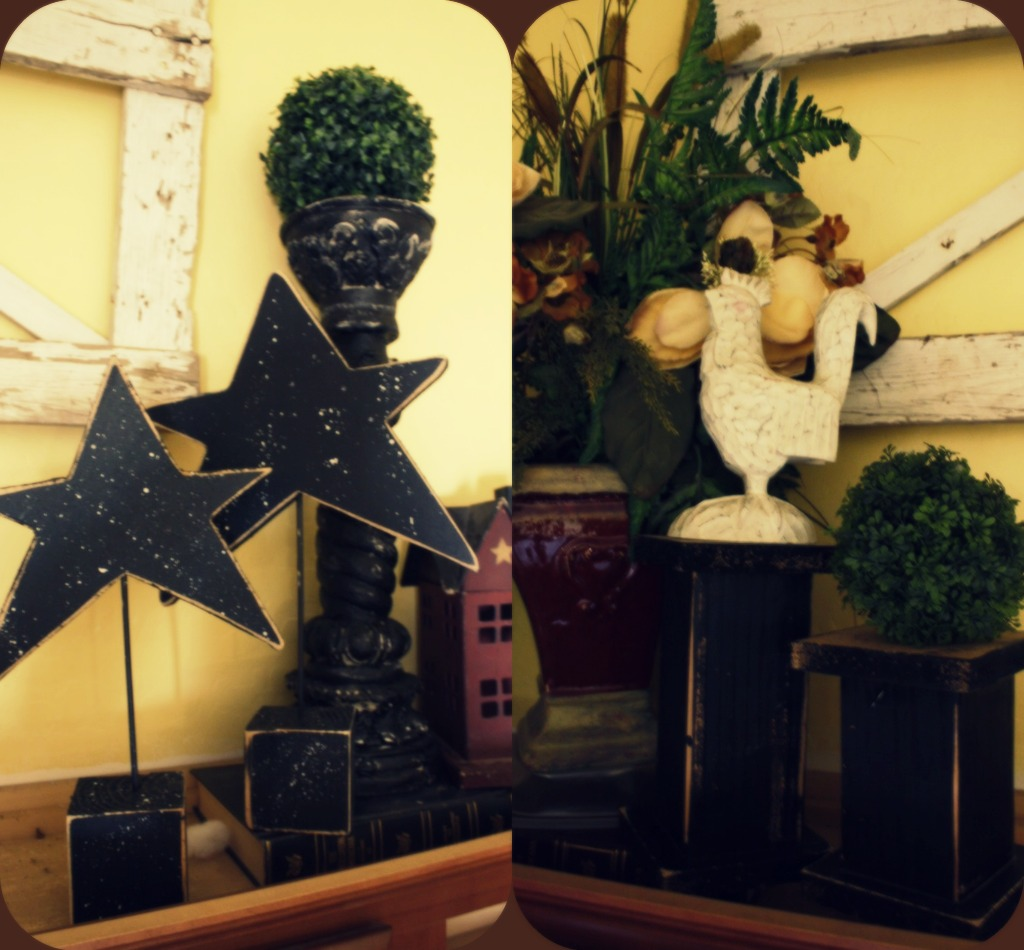 Dejavu crafts star stands 4x4 post candle holders for Decoration 4x4