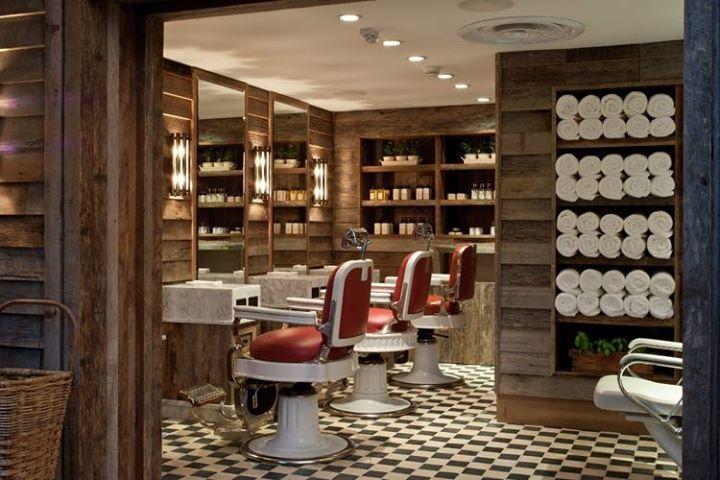 Seaseight design blog interior design barber shop for Arredamento barber shop