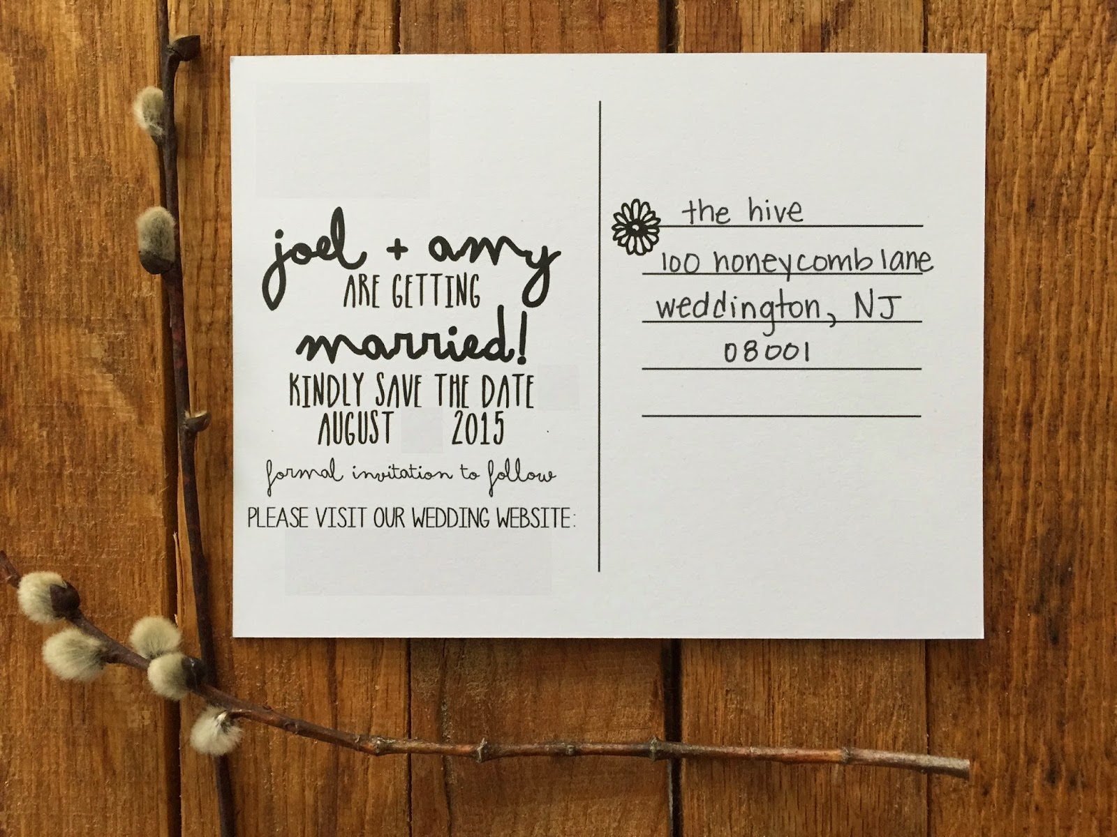 becoming the joneses narwhal save the date reveal