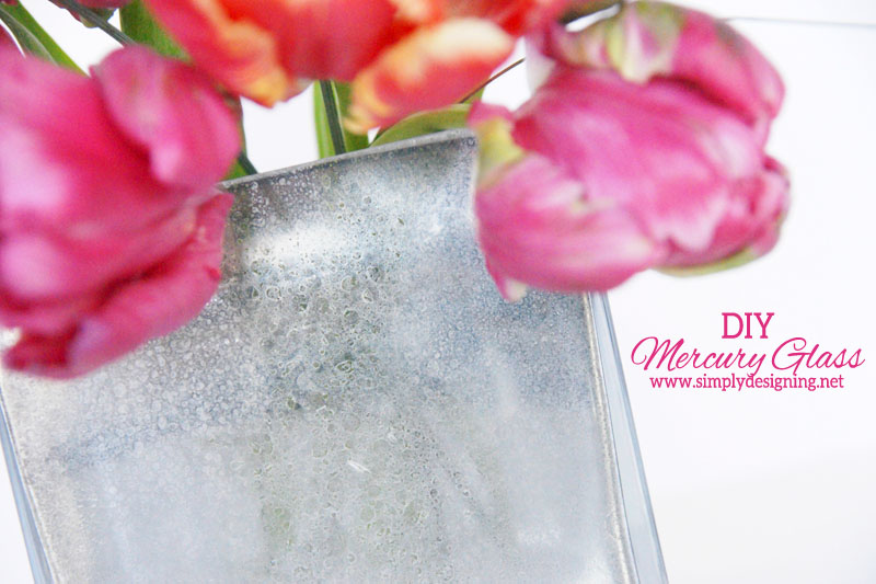 How To Make A Mercury Glass Vase