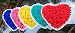 Bases Corações Coloridos