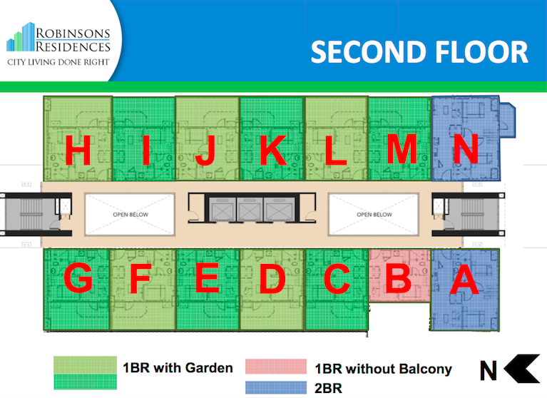 Delta Residences Davao - Second Floor