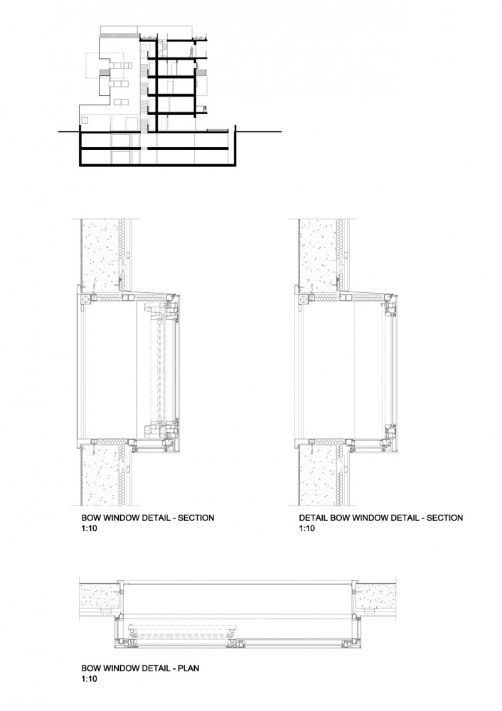 El plan z arquitectura metrogramma villa urbana domus for Bay window plan detail