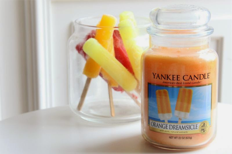 Yankee Orange Dreamsicle Candle