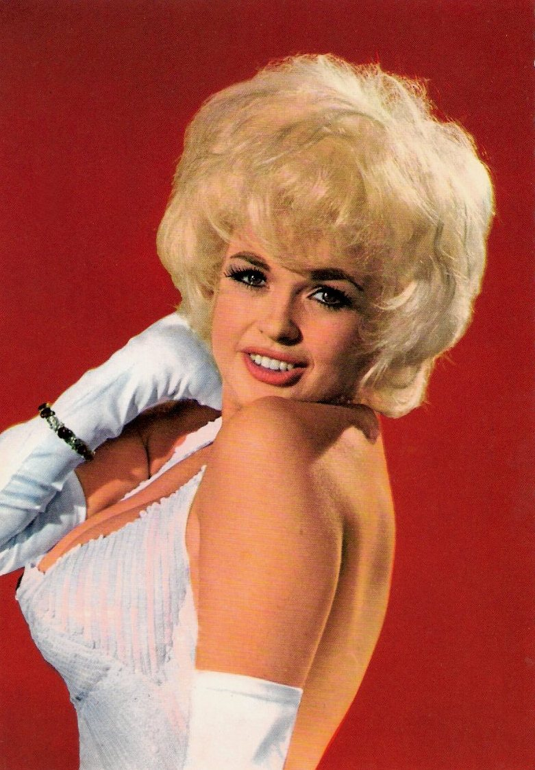Jayne Mansfield 45 Vintage Color Portrait Photos Of This