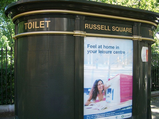Общественный туалет в Лондоне