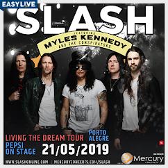 Slash + Myles Kennedy 21 de maio em Porto Alegre