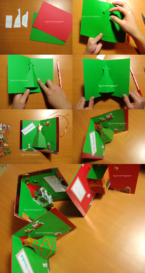Estilos de tarjetas imagui for Crear tarjetas de navidad