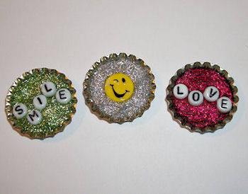Super fun kids crafts bottle cap crafts for kids for Bottle cap craft ideas for kids