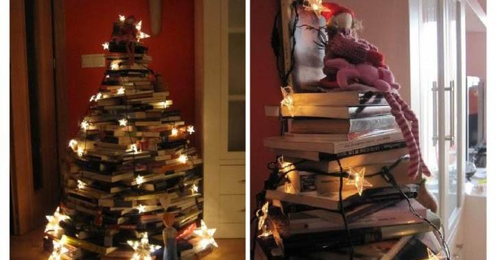 Dando la bienvenida a la navidad fitness chicness - Arbol de navidad con libros ...