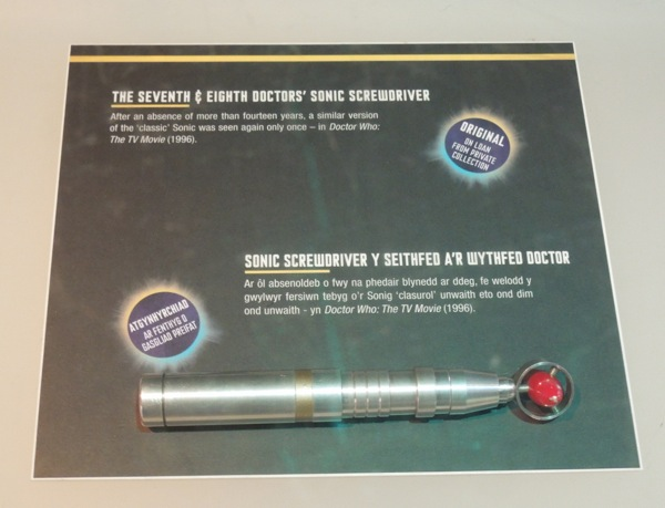 Doctor Who TV movie Sonic Screwdriver