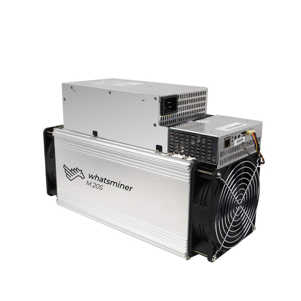 DragonX Whatsminer M20S 68TH/S BTC ASIC Miner Machine 3360W Bitcoin
