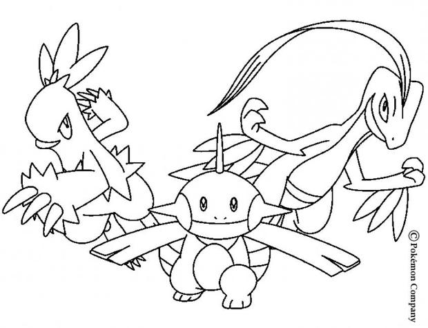 Ba da web desenhos de pokemon para imprimir e colorir for Flygon coloring pages