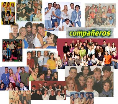 Actores de la serie de Antena 3 Compañeros